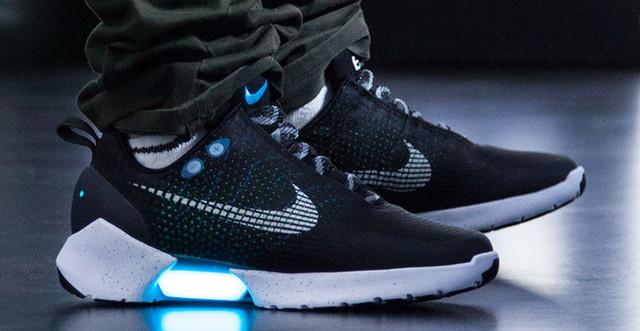 Новые технологии Nike HYPERADAPT