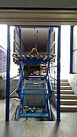Подъёмник гидравлический межэтажный