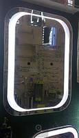 Зеркало 600*800 со светодиодной подсветкой, индивидуальный размер