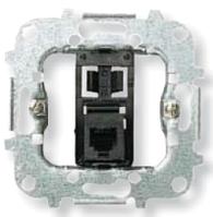 Механизм розетки телефонной одинарной 6pin RJ12