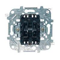 Механизм выключателя двухклавишного кнопочного
