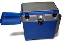 """Ящик для зимней рыбалки A-elita """"A-box"""" с карманом столиком и термометром"""