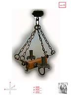 Люстра кованая на 2 лампы
