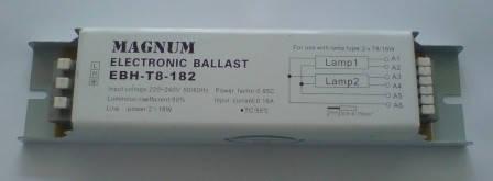 Балласт MAGNUM 2*18W електрон.