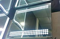 Ультратонкое зеркало 900*700 мм с светодиодной подсветкой  Bubless, индивидуальный размер