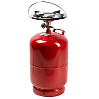 """«Rudyy®» Газовый комплект Rk-5 (2.5kw) """"Пикник-Italy"""" 12,5 литров"""