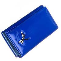 Женский кожаный кошелек Balisa синего цвета, фото 1