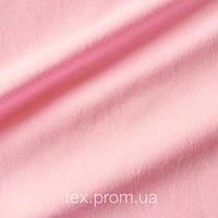 Трикотажное полотно кулир (кулирная гладь) хлопок 30/1, светло-розовый