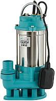 Насос канализационный 1.1кВт Hmax 18м Qmax 350л/мин (нерж)