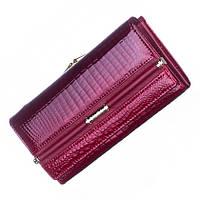 Женский кожаный кошелек Balisa красного цвета, фото 1
