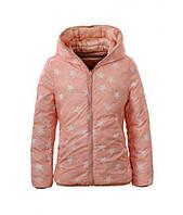 Куртки двухсторонние для девочек оптом, Glo-Story, 134/140-170 рр., арт.GMA-3376