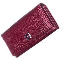 Женский кожаный кошелек Balisa красного цвета