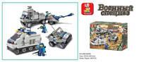 Детский конструктор sluban m38-b0208 Военный спецназ 467 деталей в коробке 43*6*325 см