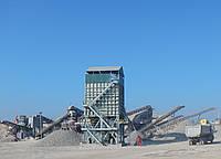 Бункера накопители, складирования и погрузки горной массы