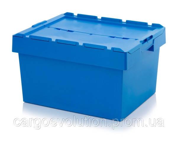 Пластиковый ящик для транспортировки 800 х 600 х 440