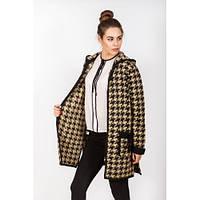 Модная женская теплая кофта с капюшоном из Индии