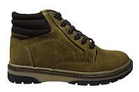 Женские/подростковые ботинки Hillfoge, натуральная кожа, коричневые Р. 37 38