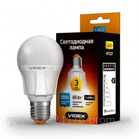 Светодиодная лампа Videx 5W E27 3000K