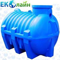 Септик однокамерный для канализации Украина, 2000 л, фото 1