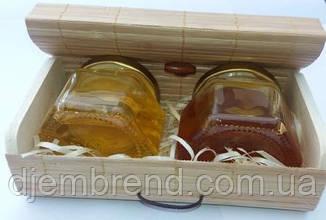 Мёд подарочный, разнотравье и гречишный