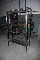 Стеллаж-сушка из нержавеющей стали 1000х300х1800