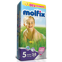 Подгузники Molfix 5 Junior (11-25кг) 58шт.
