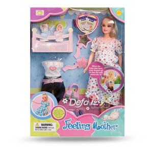 Кукла DEFA беременная, 2 ребенка, 8009, фото 2