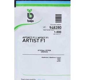 Семена огурца Артист F1 (Бейо/Bejo), 1000 семян — ультраранний гибрид (40-45 дней), партенокарпик , фото 2