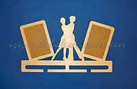 Медальница танцы заготовка для декора