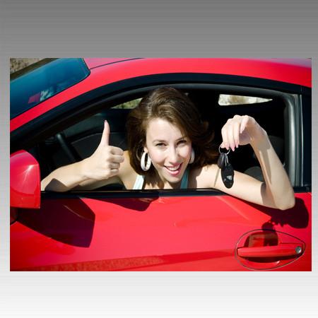 Открытие двери автомобиля