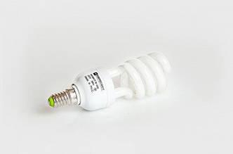 Люминесцентная бытовая лампа (КЛЛ) 7Вт 4200К  Е27
