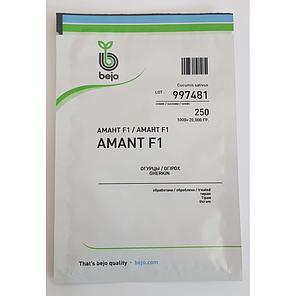 Семена огурца Амант F1 250 семян (Бейо / Bejo) - партенокарпик, ультра-ранний гибрид (40-45 дней), фото 2