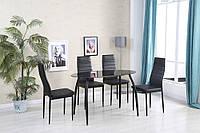 Стол + 4 кресла для столовой