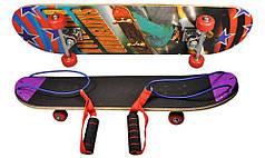 Скейтборд з ручками 3812