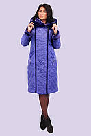Женское пальто-пуховик больших размеров Модель 118    50-62 размеры