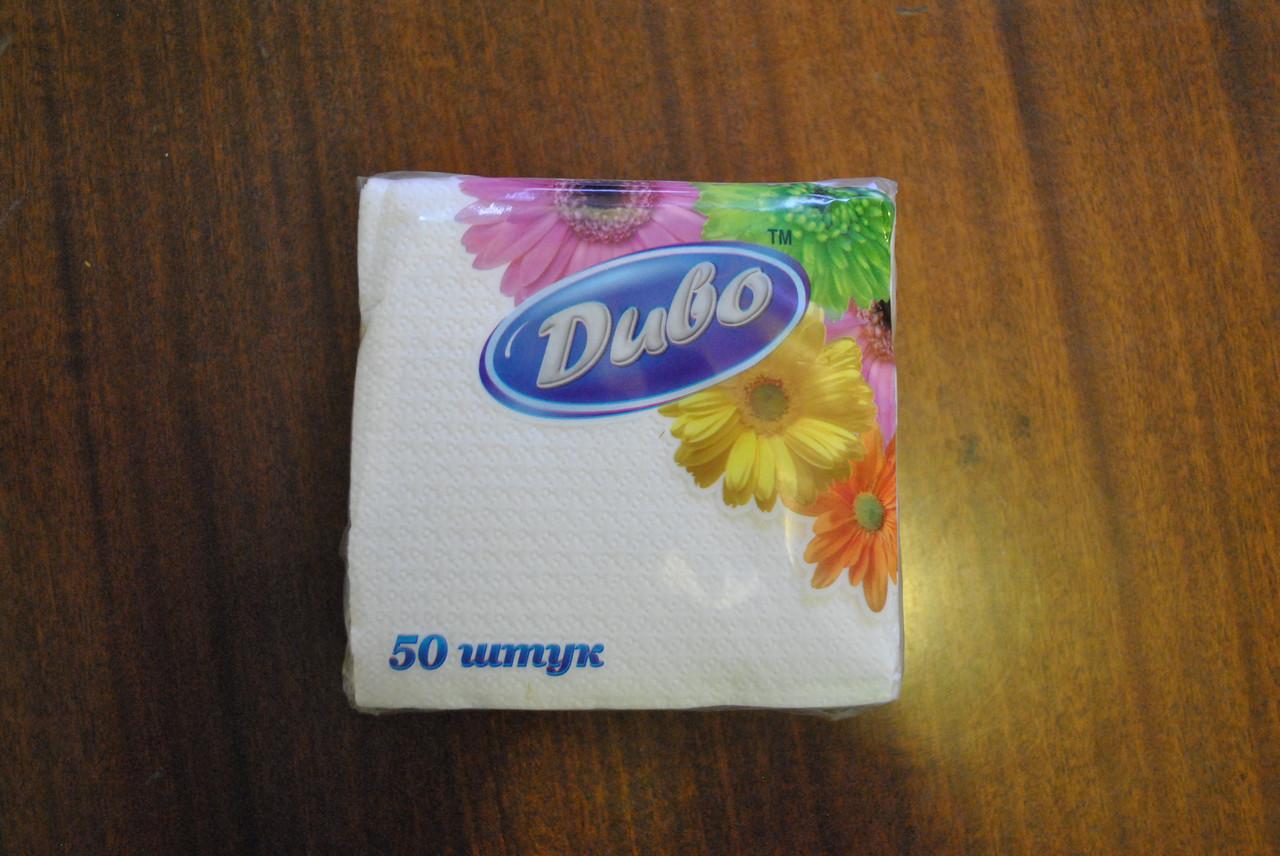 Паперова серветка Диво 24х24 50 штук