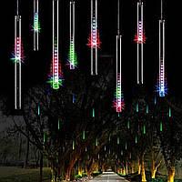 """Гирлянда метеоритный дождь """"Тающие сосульки"""" 70 см LED, цветные"""