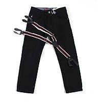 Брюки джинсовые утепленные для мальчика