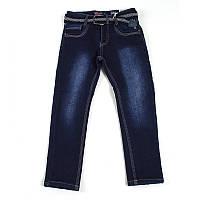 Брюки джинс для хлопчика Seagull (утеп.) (Зріст 164, Синій)