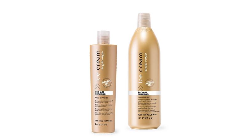 Inebrya Argan Oil Pro Age Шампунь с аргановым маслом для окрашенных волос 300 мл.