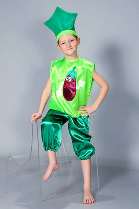 Карнавальный костюм для девочки и мальчика Баклажан, фото 2