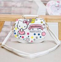 "Детская сумочка для девочки ""Hello Kitty"" белая"