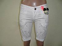 Шорты джинсовые Белые WL470