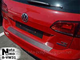 Накладка на задний бампер Volkswagen Golf VII Variant с -2012 г.