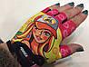 Перчатки для фитнеса BARBIE детские Power Play без пальцев р. XXS,  S