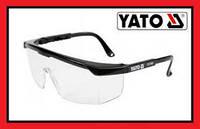 Очки защитные с боковой защитой Yato YT-7361
