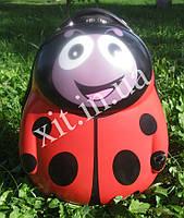 """Детский чемодан 17"""" на колесах Солнечный жук"""