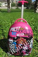 "Детский чемодан 16"" на колесах Monster High"