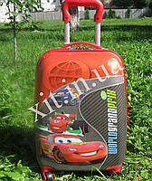 "Детский чемодан 16"" на колесах Cars"