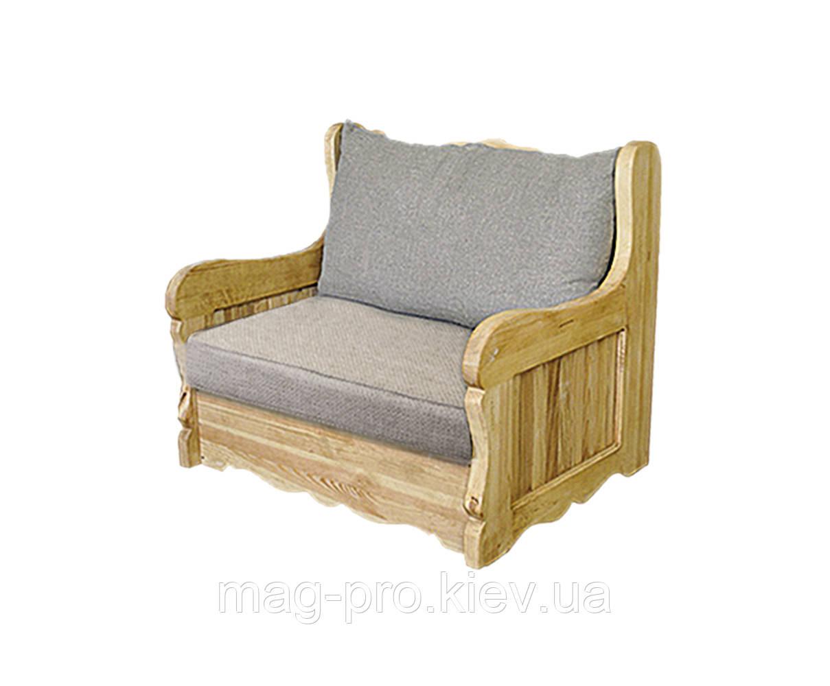Кресло деревянное, сосна (натуральное дерево)